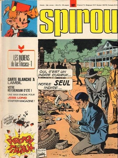 Le journal de Spirou 1837 - 1837