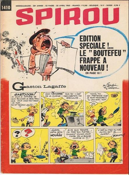 Le journal de Spirou 1410 - 1410