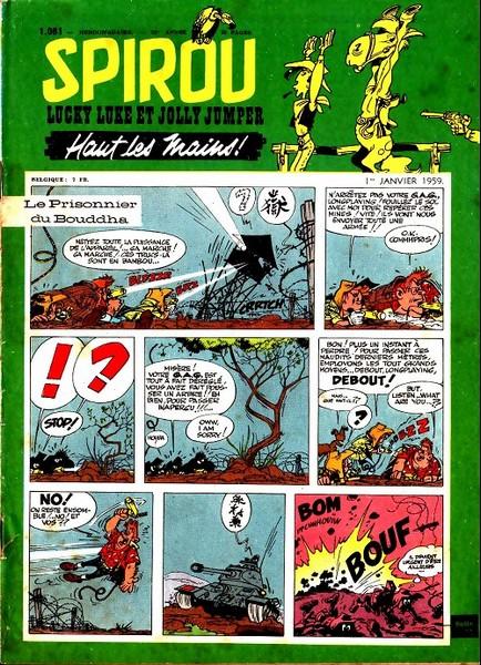 Le journal de Spirou 1081 - 1081