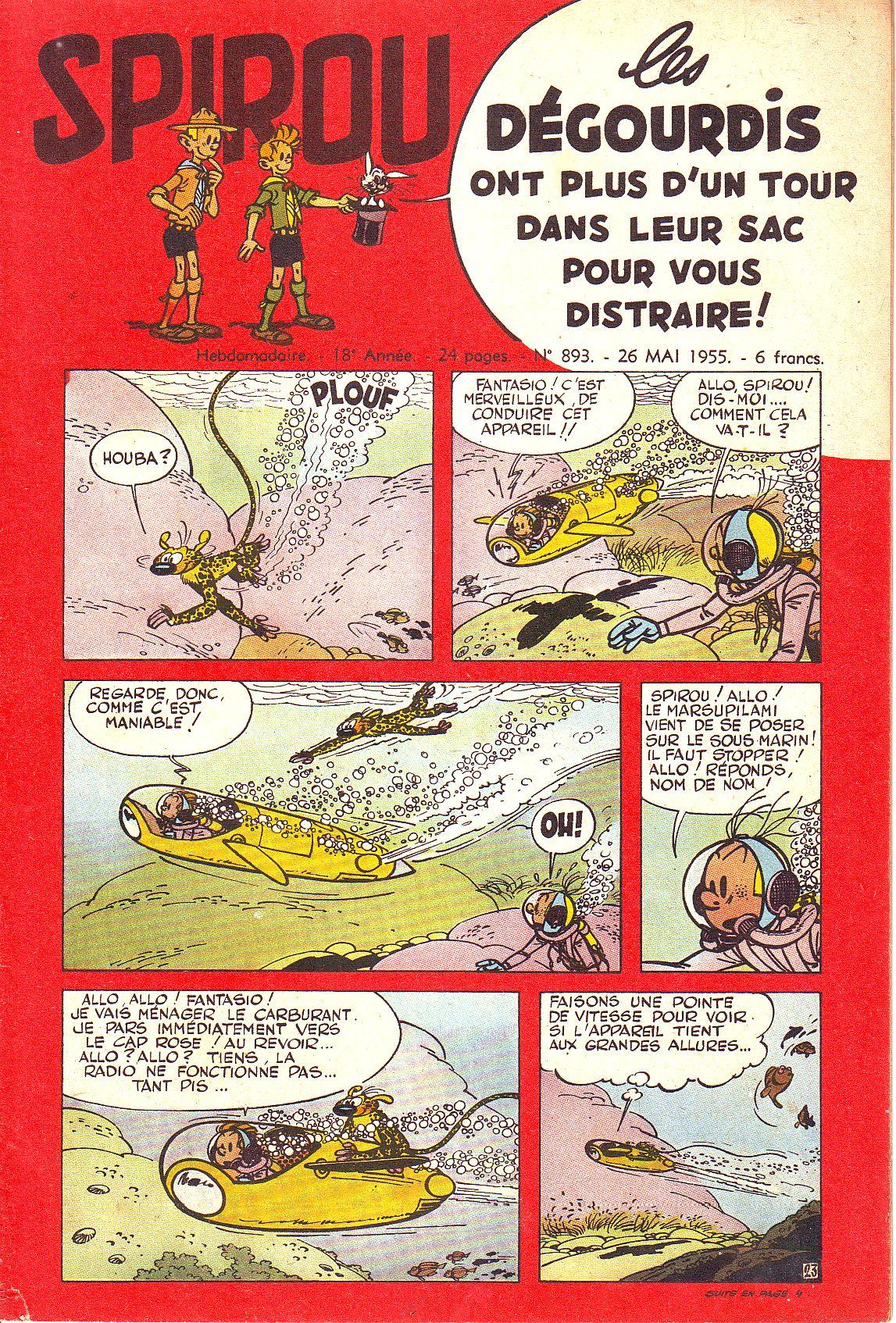 Le journal de Spirou 893 - 893