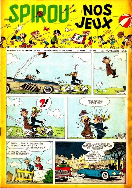 Le journal de Spirou 972 - 972