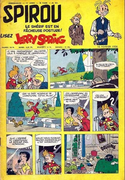 Le journal de Spirou 931 - 931
