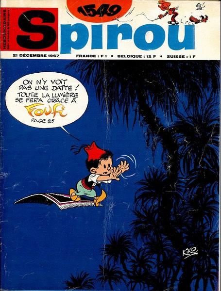 Le journal de Spirou 1549 - 1549
