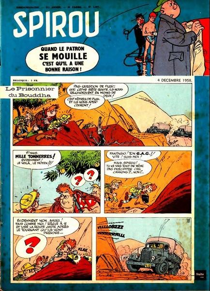 Le journal de Spirou 1077 - 1077