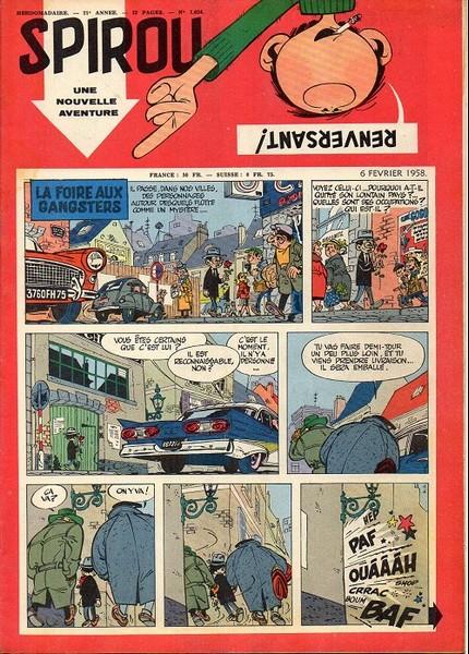 Le journal de Spirou 1034 - 1034