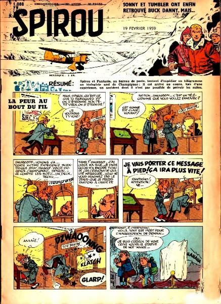 Le journal de Spirou 1088 - 1088
