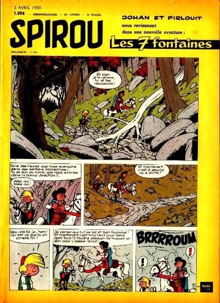 Le journal de Spirou 1094 - 1094