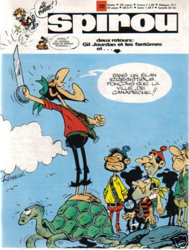 Le journal de Spirou 1727 - 1727