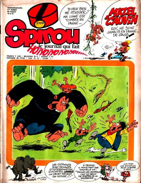 Le journal de Spirou 2109 - 2109