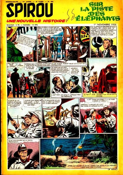 Le journal de Spirou 968 - 968
