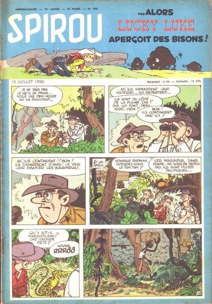 Le journal de Spirou 953 - 953