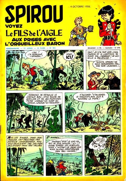 Le journal de Spirou 964 - 964