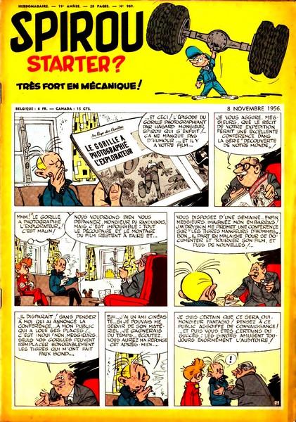 Le journal de Spirou 969 - 969