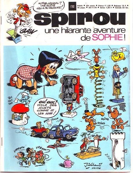 Le journal de Spirou 1702 - 1702