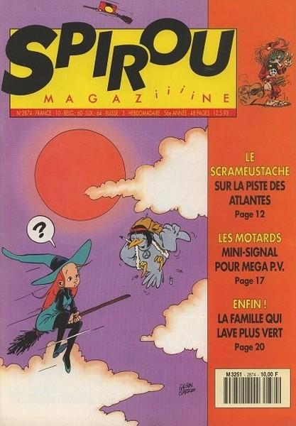 Le journal de Spirou 2874 - 2874