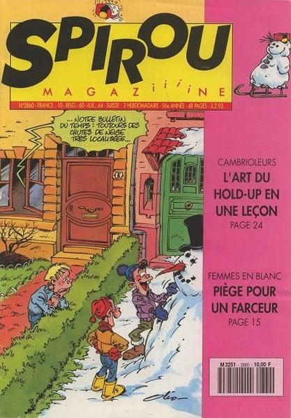Le journal de Spirou 2860 - 2860