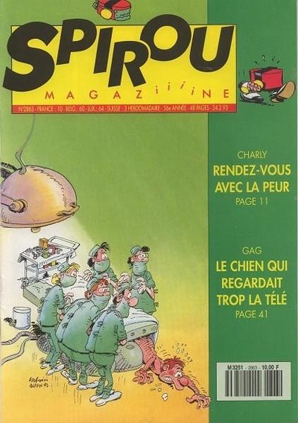 Le journal de Spirou 2863 - 2863