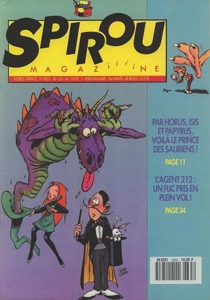 Le journal de Spirou 2865 - 2865