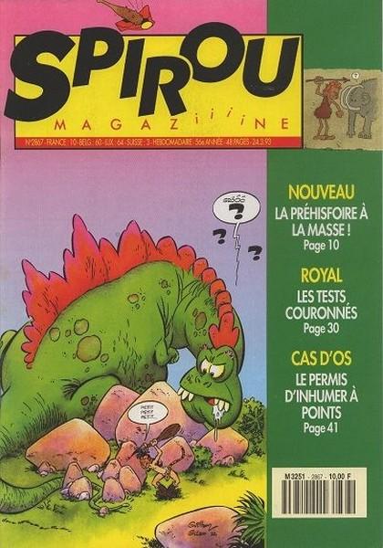 Le journal de Spirou 2867 - 2867