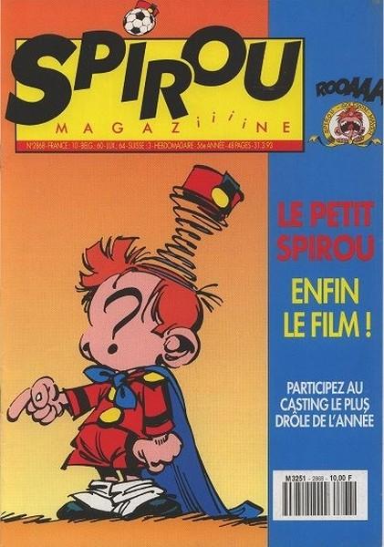 Le journal de Spirou 2868 - 2868