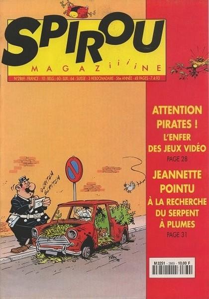 Le journal de Spirou 2869 - 2869