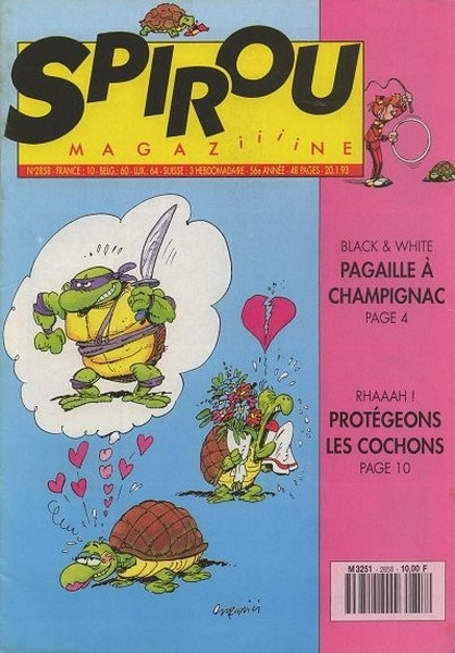 Le journal de Spirou 2858 - 2858