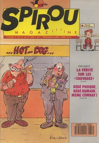 Le journal de Spirou 2755 - 2755