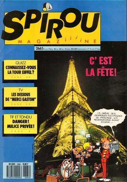 Le journal de Spirou 2665 - 2665