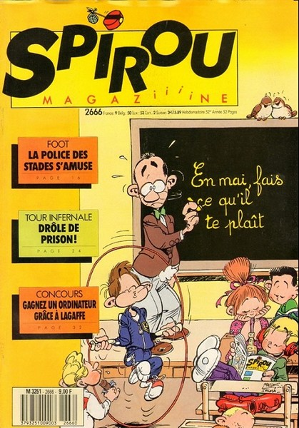 Le journal de Spirou 2666 - 2666