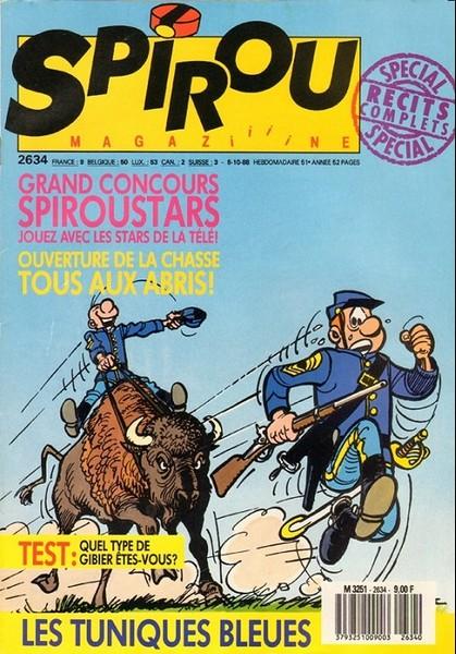 Le journal de Spirou 2634 - 2634