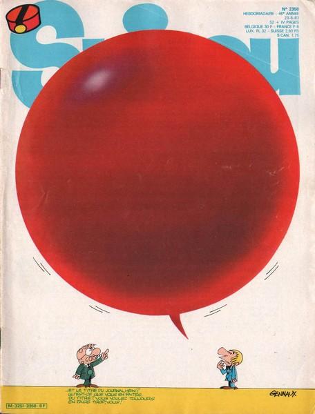 Le journal de Spirou 2358 - 2358