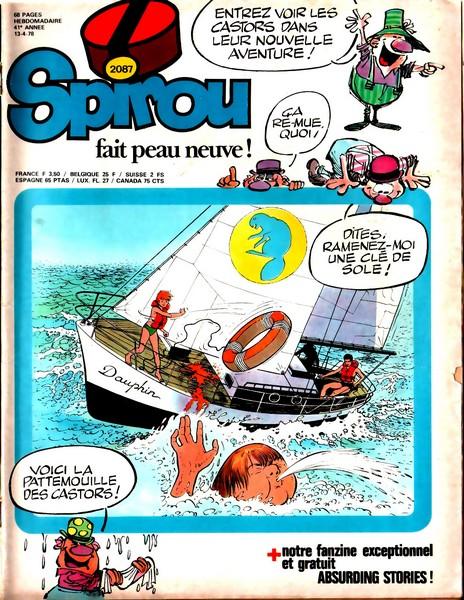 Le journal de Spirou 2087 - 2087
