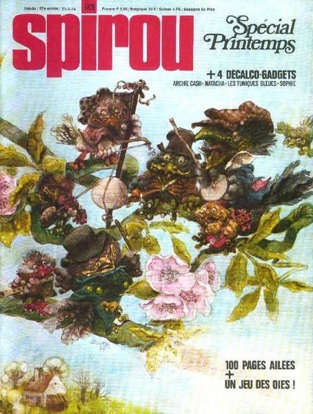Le journal de Spirou 1875 - Spécial printemps