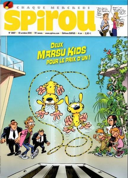 Le journal de Spirou 3887 - 3887