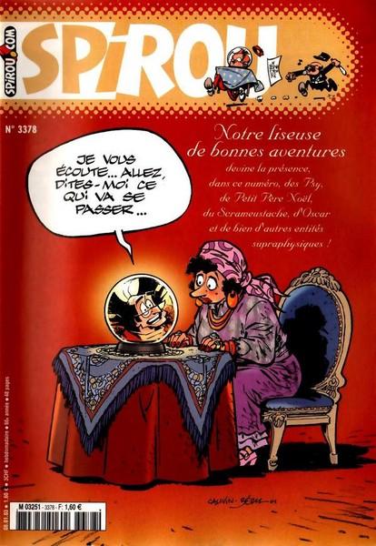 Le journal de Spirou 3378 - 3378