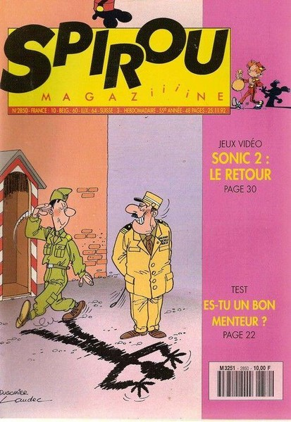 Le journal de Spirou 2850 - 2850