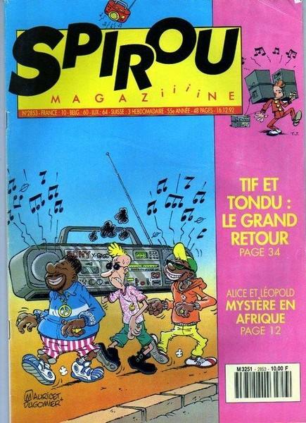 Le journal de Spirou 2853 - 2853