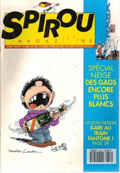 Le journal de Spirou 2854 - 2854
