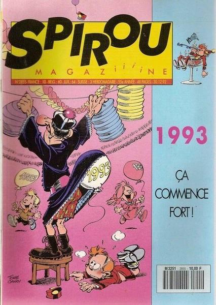 Le journal de Spirou 2855 - 2855