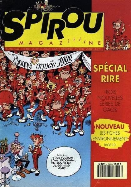 Le journal de Spirou 2803 - 2803