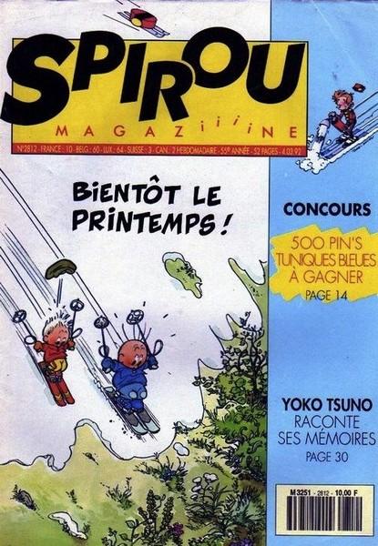 Le journal de Spirou 2812 - 2812