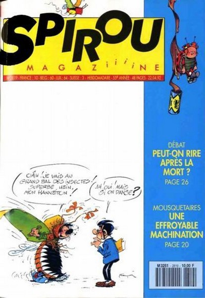 Le journal de Spirou 2819 - 2819