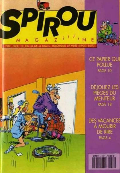 Le journal de Spirou 2821 - 2821
