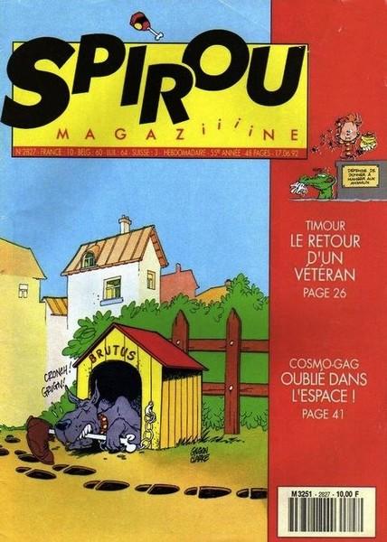 Le journal de Spirou 2827 - 2827