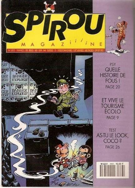 Le journal de Spirou 2833 - 2833