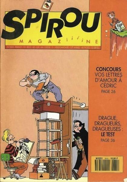 Le journal de Spirou 2835 - 2835
