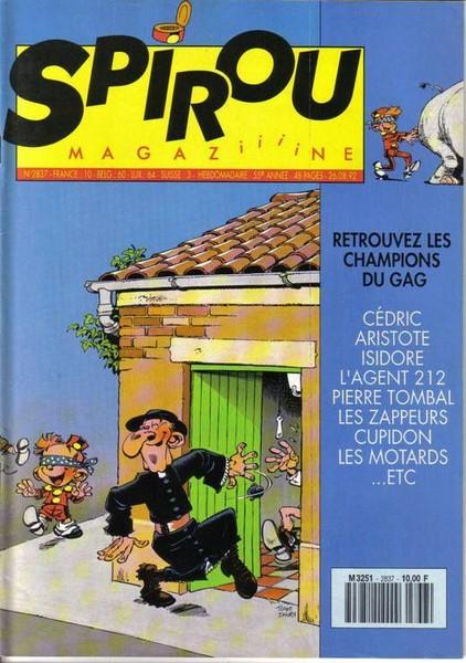 Le journal de Spirou 2837 - 2837