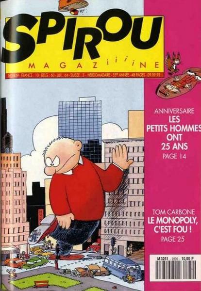 Le journal de Spirou 2839 - 2839