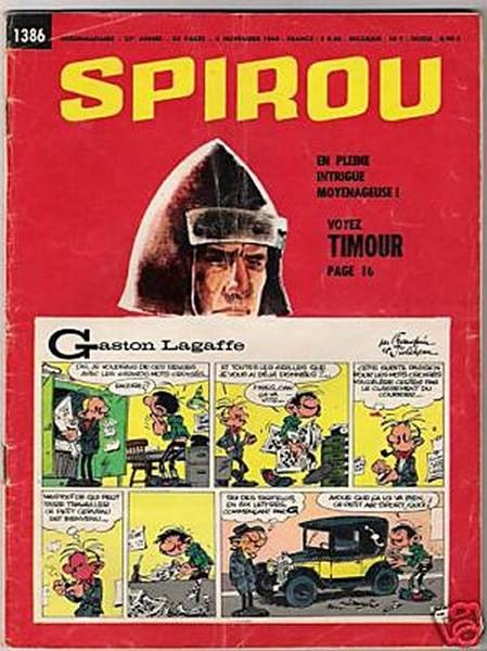 Le journal de Spirou 1386 - 1386