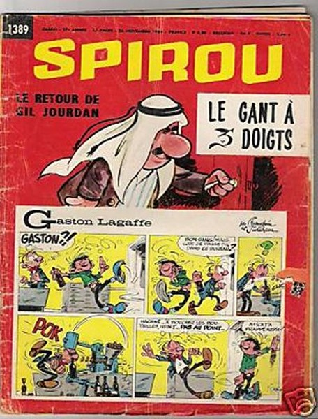 Le journal de Spirou 1389 - 1389